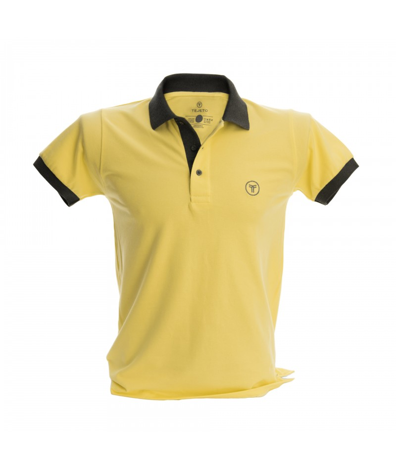 Camiseta Polo Hombre Slim Fit Solid - 13