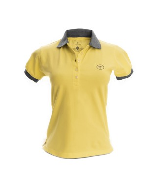 Camiseta Polo Mujer Slim Fit Solid - 5