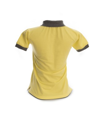 Camiseta Polo Mujer Slim Fit Solid - 6