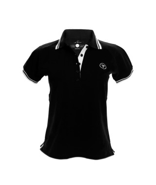 Camiseta Polo Mujer Slim Fit Solid - 9