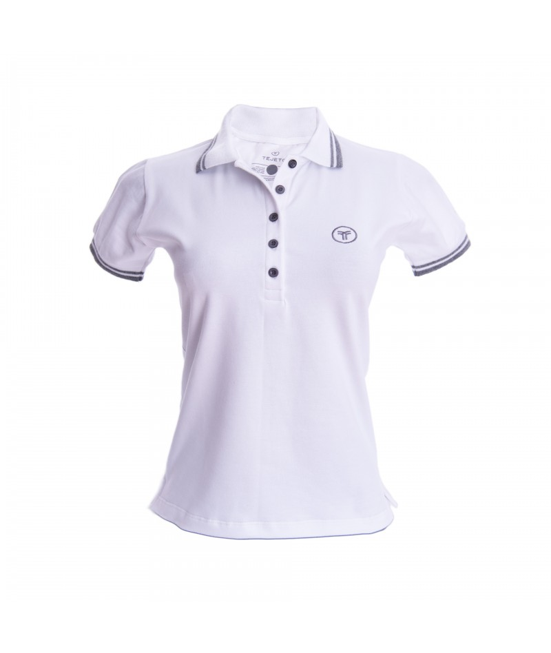 Camiseta Polo Mujer Slim Fit Solid - 13