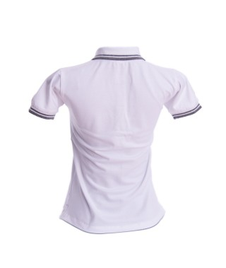 Camiseta Polo Mujer Slim Fit Solid - 14
