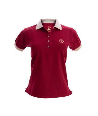 Camiseta Polo Mujer Slim Fit Solid - 17