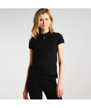 Camiseta Polo Mujer Slim Fit Solid - 1