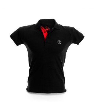 Men's Slim Fit Solid Polo Shirt - 1