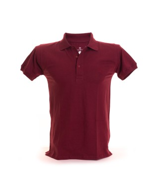Men's Slim Fit Solid Polo Shirt - 21