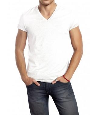 Camiseta de punto hombre cuello cross - 3