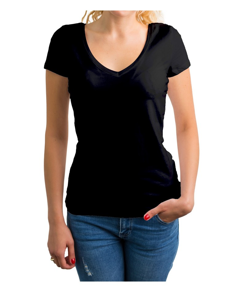 Camiseta de punto cuello cross - 3