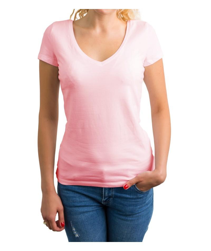 Camiseta de punto cuello cross - 4