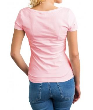 Camiseta de punto cuello cross - 6